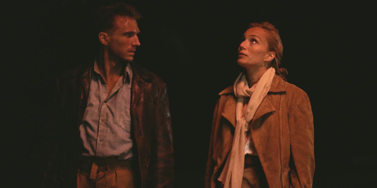 Ralph Fiennes and Kristin Scott Thomas