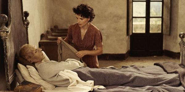 Ralph Fiennes and Juliette Binoche