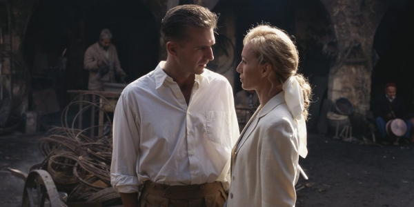 Ralph Fiennes and Kristin Scott Thomas